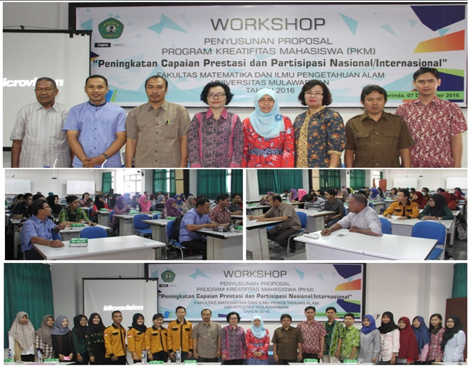 FMIPA Unmul : Workshop Penyusunan Proposal PKM