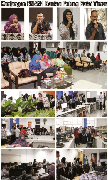 Kunjungan SMA Negeri 1 Rantau Pulung Kutai Timur