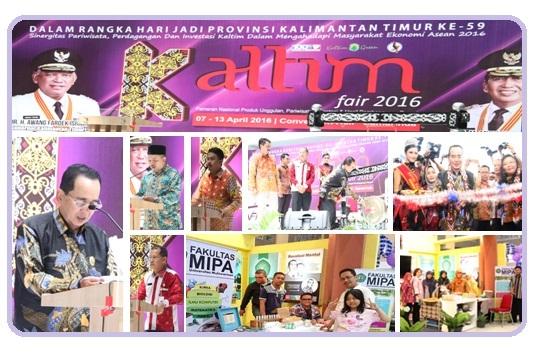 FMIPA Unmul : Mengikuti Kaltim Fair 2016