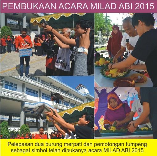 Acara milad ABI (Association of Bioligists Intelectual) 2015