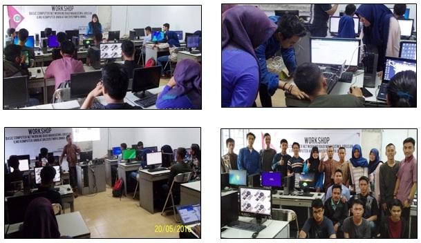 WORKSHOP BASIC COMPUTER NETWORKING JURUSAN ILMU KOMPUTER FMIPA, LAB. NETWORK & COMP. SECURITY