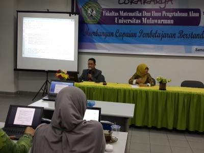 FMIPA Gelar Lokakarya Capai Pembelajaran Berstandar Nasional