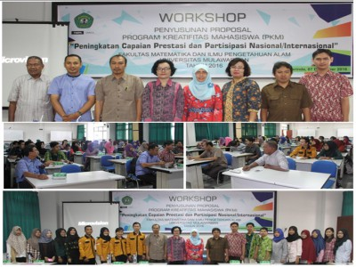 FMIPA Unmul : Workshop Penyusunan Proposal PKM