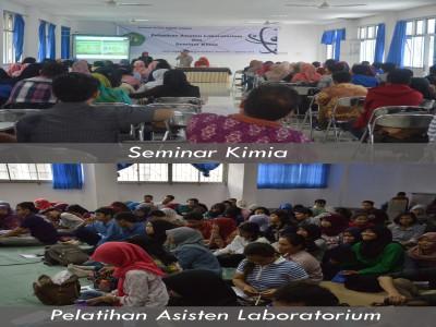 Pelatihan Asisten Laboratorium dan Seminar Kimia FMIPA UNMUL