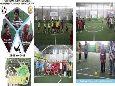 Kompetisi Futsal Dekan CUP 2015