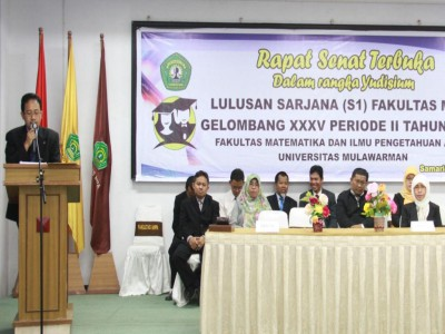 Yudisium Lulusan Sarjana (S1) Fakultas MIPA