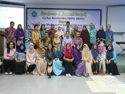FMIPA Unmul : Syukuran dan Ramah Tamah Kelulusan Sarjana (S1)
