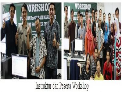 Jurusan Ilmu Komputer FMIPA Unmul mengadakan Workshop Pengenalan Platform ArcGis