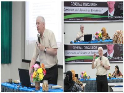 Jurusan Matematika Program Studi Statistika FMIPA Unmul Adakan Diskusi