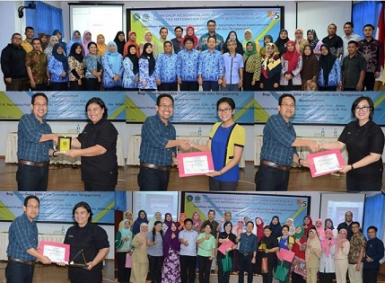 "FMIPA UNMUL : PROGRAM P2M ""WORKSHOP K3"" GURU KOTA SAMARINDA-TENGGARONG"