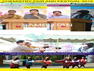 "Acara ""Chemistry fair and festival 2015"" yang diselenggarakan oleh Himpunan Mahasiswa Kimia Fakultas MIPA Unmul"