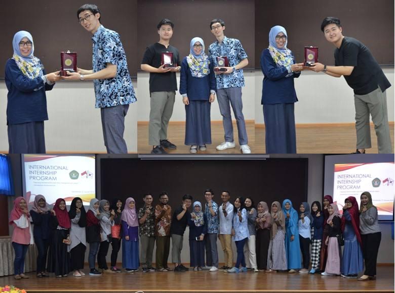 FMIPA UNMUL : PELAKSANAAN KOREA INTERNSHIP EDUCATION, TOURSIM & INDUSTRY 2018
